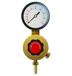 pressure controller vector image