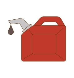 Oild gallon bottle vector