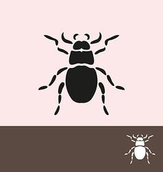 bug symbol vector image