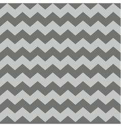 Zig zag chevron brown tile pattern vector image