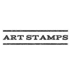 Art stamps watermark stamp vector