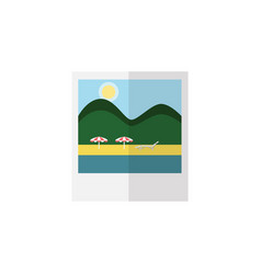 Isolated pictures flat icon reminders vector