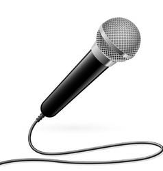 Karaoke microphone vector