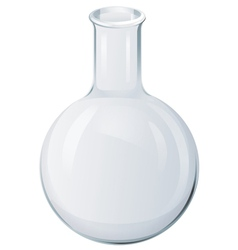 Round Bottom Flask vector image