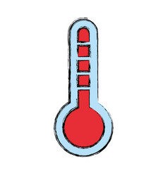 Thermometer tool temperature vector