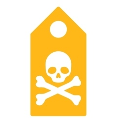 Death mark icon vector
