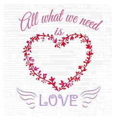 All what you need vector