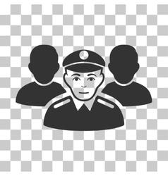 Army team icon vector