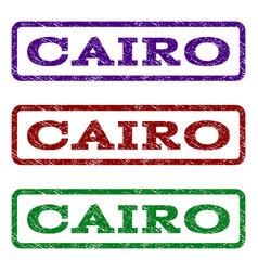 Cairo watermark stamp vector