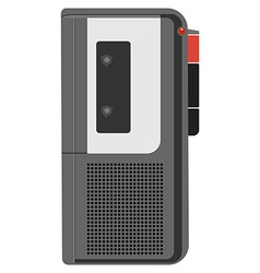 Voice recorder vector