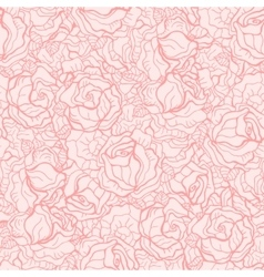 Seamless roses pattern vector