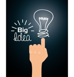 Big ideas design vector