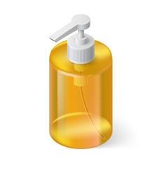 Liquid soap isometric vector