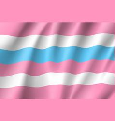 Bigender pride flag vector