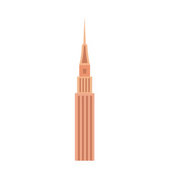 Business tower isolated icon vector