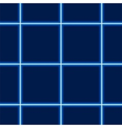 Glowing Squared Pattern vector image
