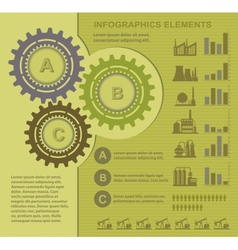 Set of infographics vector image vector image