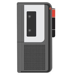 Voice recorder vector