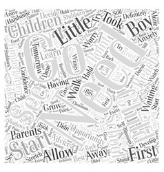 How to let go word cloud concept vector