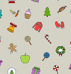 Candy on sticks holidays vector image vector image