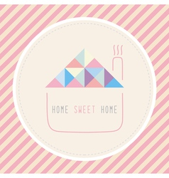 Home sweet home1 vector