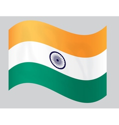 indiaflag4 vector image vector image