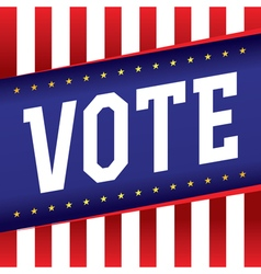 Vote election banner vector