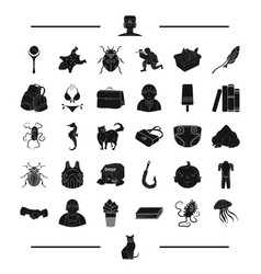 Animal rest childhood and other web icon in vector