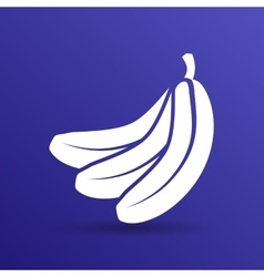 Banana fruit infographic logo simple icon vector