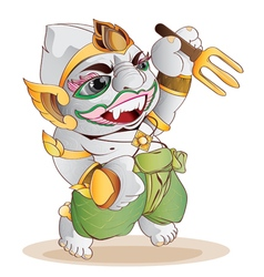 Hanuman thai vector