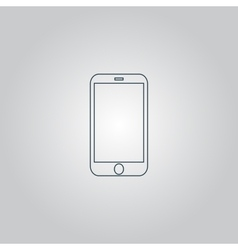 Mobile mini tablet icon vector image