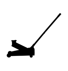 Trolley jack vector image