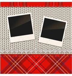 Vintage Photo Frames vector image vector image