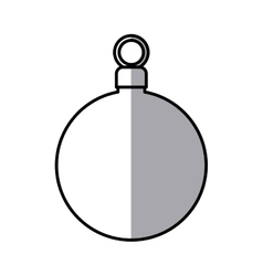 Sphere of christmas season design vector