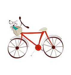 Icon bicycle vector