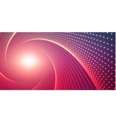 infinite round twisted tunnel of vector image