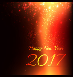Creative new year celebration background with vector