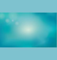 Blur blue summer background underwater nature vector