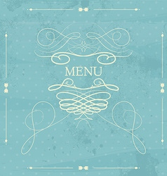 Label for restaurant menu design element for vector