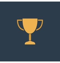 Business and finance icon trophy vector