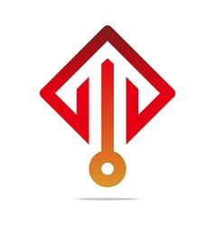 Arrow color design symbol icon vector