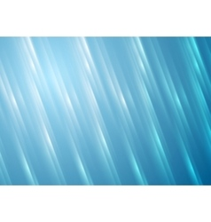 Blue blurred shiny stripes background vector