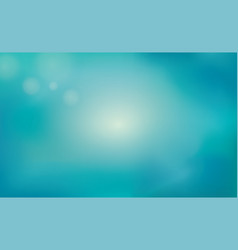 Blur blue summer background underwater nature vector