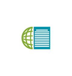 global news logo vector image vector image