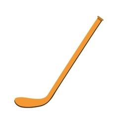 Ice hockey stick vector image