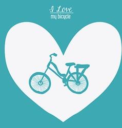 Love heart desing vector