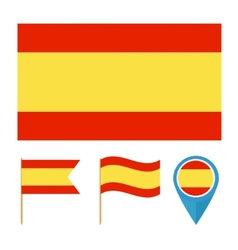 Spain country flag vector image vector image