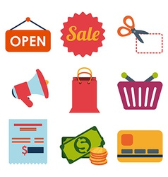 Sales and retail vector