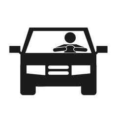 Car auto vehicle icon vector