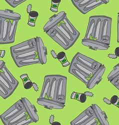 Garbage pattern vector